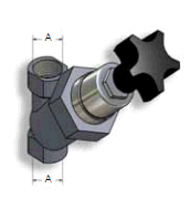 The cutting valves,