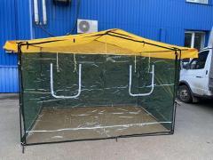 Защитный экран для торговой палатки и шатра, защитная пленка, передняя стенка с пленки пвх