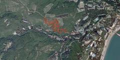 Продается земельный участок в г. Алушта, площадью