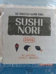 Nori for sushi