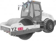 Вибрационный каток YZ20-III