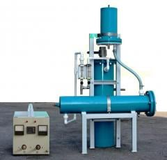 Flame-2 water disinfecting installation