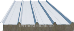 Roofing sandwich panel of 100 mm. Basalt.