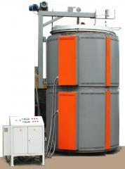 حرارت کوره های برق SShO-10.25/12.5