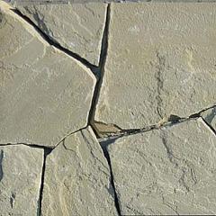 Камінь піщаник сіро-зелений.  Камінь натуральний
