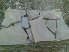 Камень песчаник коричневый