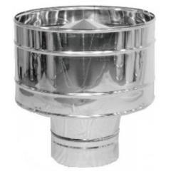 Дефлектор димохідний з нерж. сталі ф100