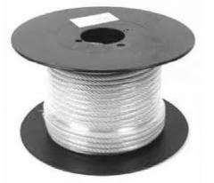 Ropes steel 16.5, 18, 24
