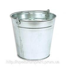 Bucket metal, galvanized