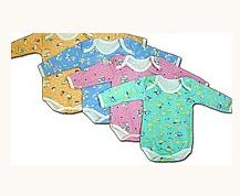 Боди с длинным рукавом для новорожденных
