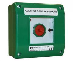 Manual announcer (alarm button) of OA1