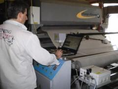 The equipment for production of toilet paper from
