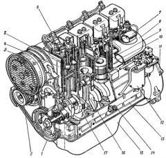 Двигатель  (д-144) трактора т-40