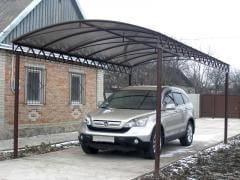 Canopies for a car, the city of Zaporizhia