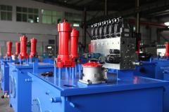 Stations power hydraulic actuator
