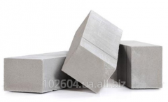 Foam concrete the hands