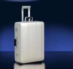 Suitcases plastic