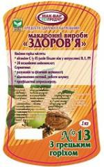 Макароны «Здоровье» №13 из пшеничной муки с