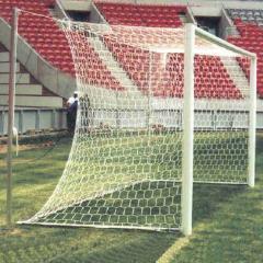 Grids bezuzlovy for a football, handball goal