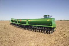 Зерновая сеялка 455 John Deere