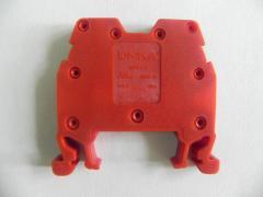 Клемма ОНКА на Дин-рейку 4 мм2, 750В, 32А, цвет