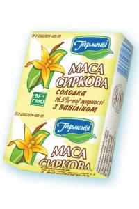 Syrkovy weight vanilla sweet. 16,5% fat content.