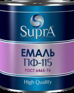 Эмаль алкидная ТМ Supra Premium для внутренних и внешних работ по металу и дереву (ГОСТ 6465-76)