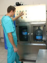 Вода питьевая (весь производственный процесс