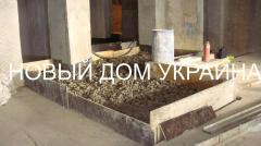 Foamglass crumb heater penokroshka