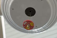 Лифт подъемник (лебедка) для люстры до 100кг трос