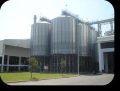 Silos for grain, Ukraine, Odessa