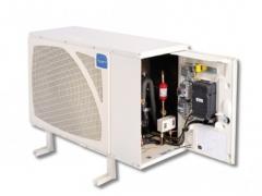 Тихоходный малошумный холодильный агрегат SILFH
