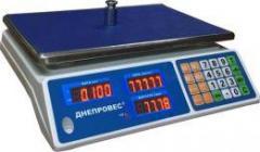 Весы торговые ВТД-6 Л2 Днепровес (фасовочные)