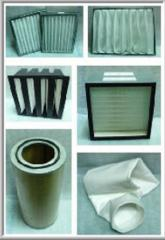 Filters. Filters for painting chambers