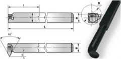 Резцы токарные резьбовой для внутренней