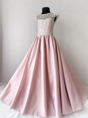 Нарядное платье для девочки 10 лет пудрового цвета