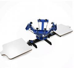 4x2 шеклотрафаретный станок для печати на