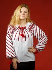 Блузки с вышивкой, Женская блузка - вышиванка ЖБ 19