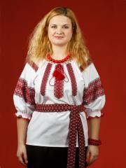Блузки с вышивкой, Женская блузка - вышиванка ЖБ 89