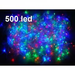Светодиодная гирлянда LED 500 диодов, цвет