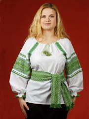 Блузки с вышивкой, Женская блузка - вышиванка ЖБ 49
