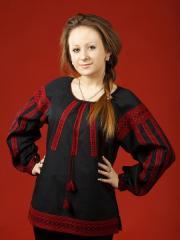 Блузки с вышивкой, Женская блузка - вышиванка ЖБ 38