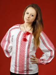 Блузки с вышивкой, Женская блузка - вышиванка ЖБ 31