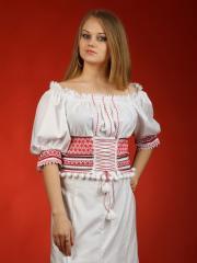 Блузки с вышивкой, Женская блузка - вышиванка ЖБ 81