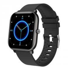 Смарт-часы Bakeey P18 black (тонометр, ...