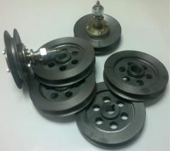 Pulleys and casting