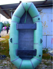 Inflatable rezinovyya boat