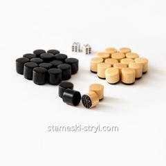 Set of chips and cubes for backgammon, ...