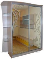 Алюминиевые  раздвижные системы для шкафов-купе.