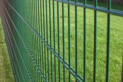 Секционный оцинкованный забор, покрытый полимером